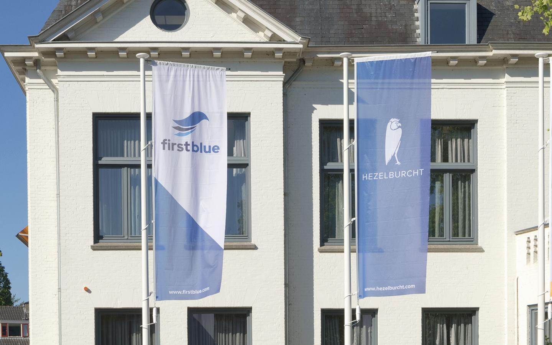 firstblue hezelburcht flags
