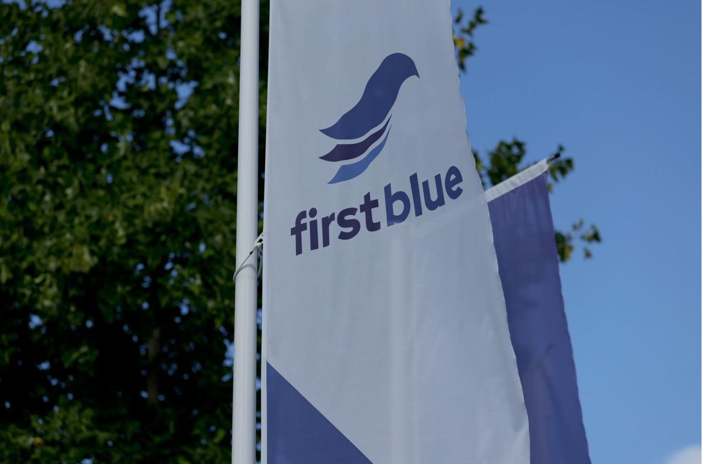FirstBlue vlag